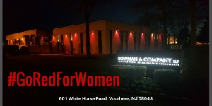 Once Again, We've Gone Red To Support The American Heart Association
