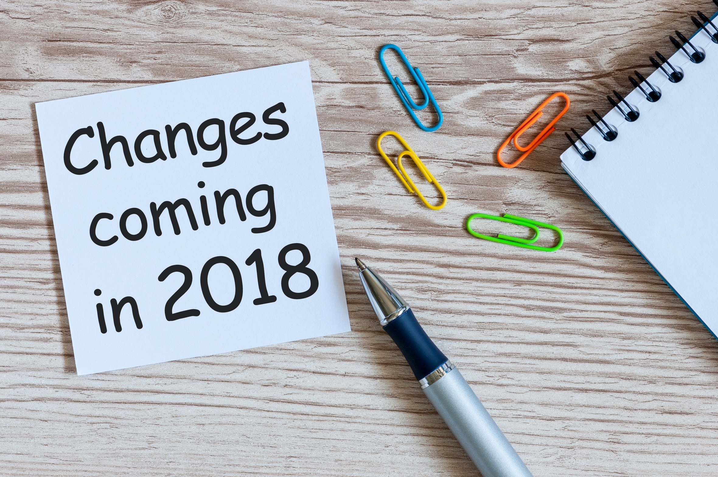Changes2018