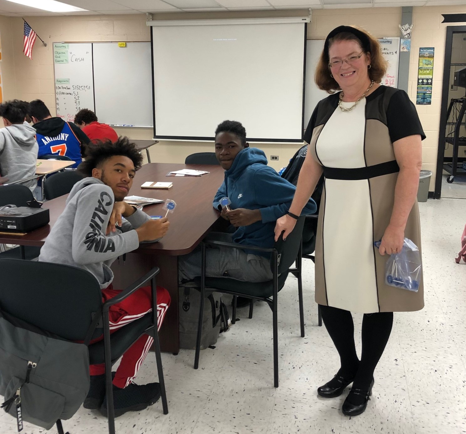 Bowman Cultivating Career Awareness In High School Students