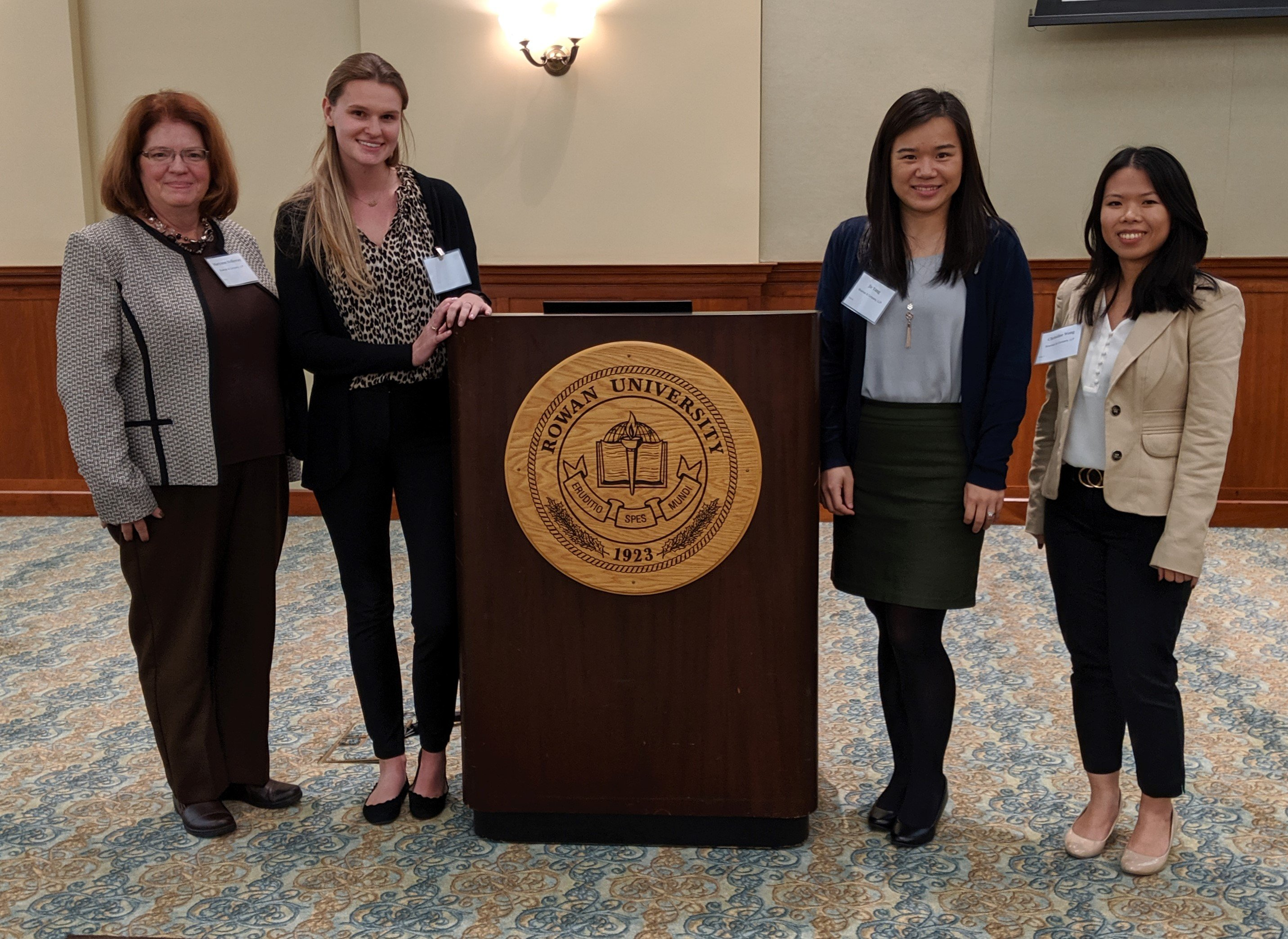 Bowman Celebrates Rowan University's Accounting Mentorship Program